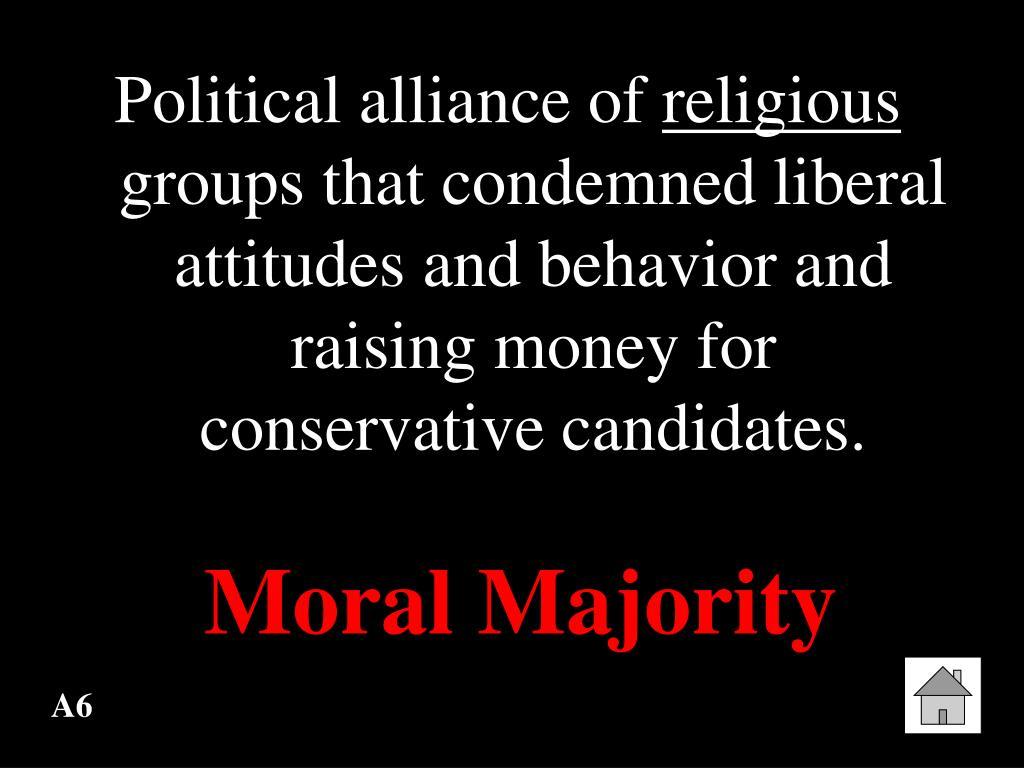 Political alliance of
