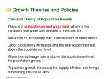 growth theories and policies38