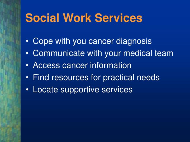 Social Work Services