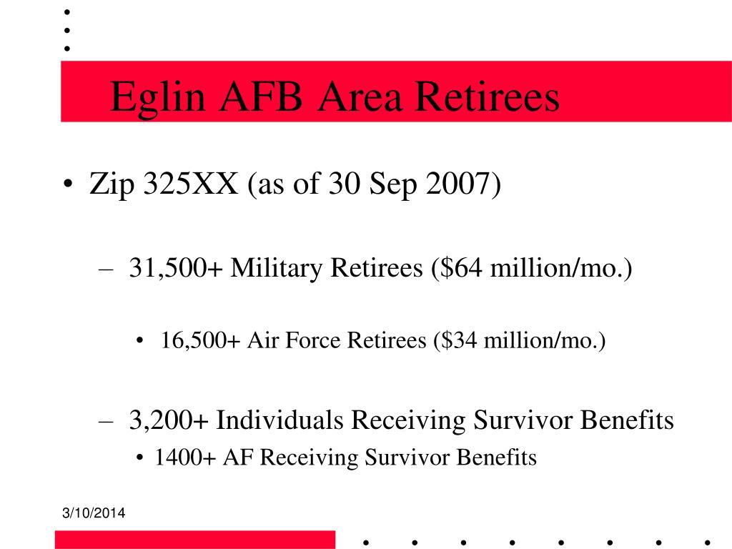 Eglin AFB Area Retirees