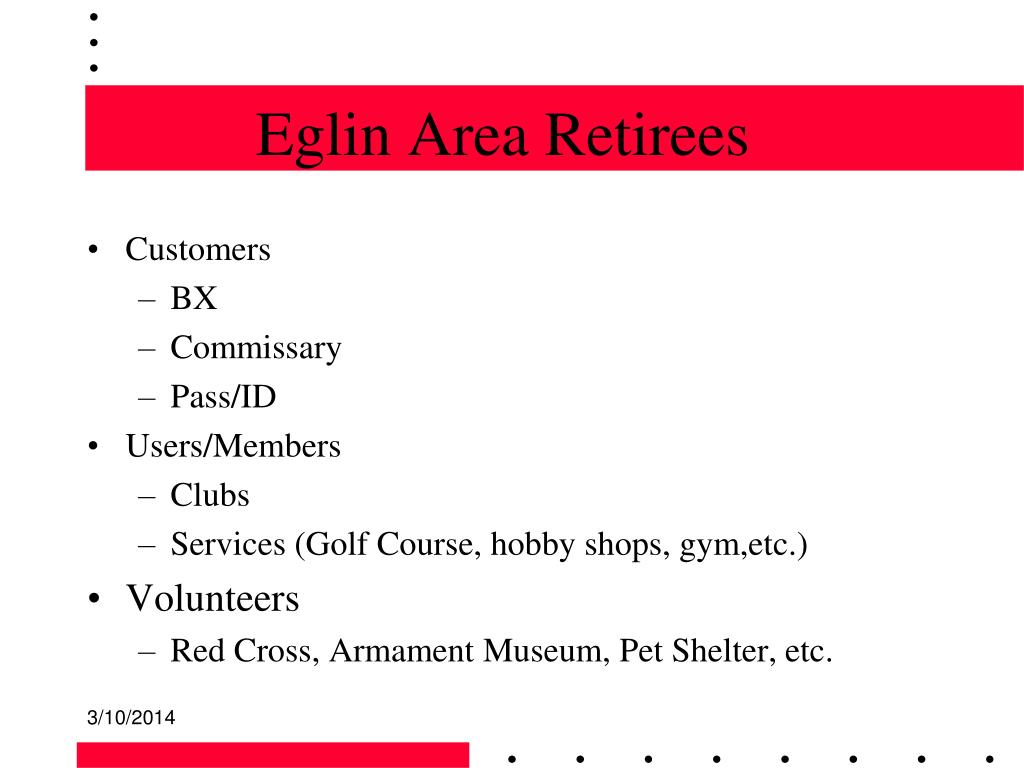 Eglin Area Retirees