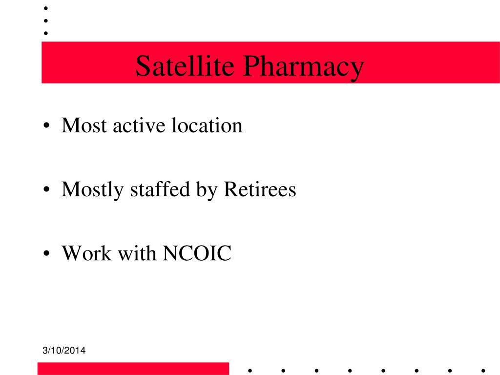 Satellite Pharmacy