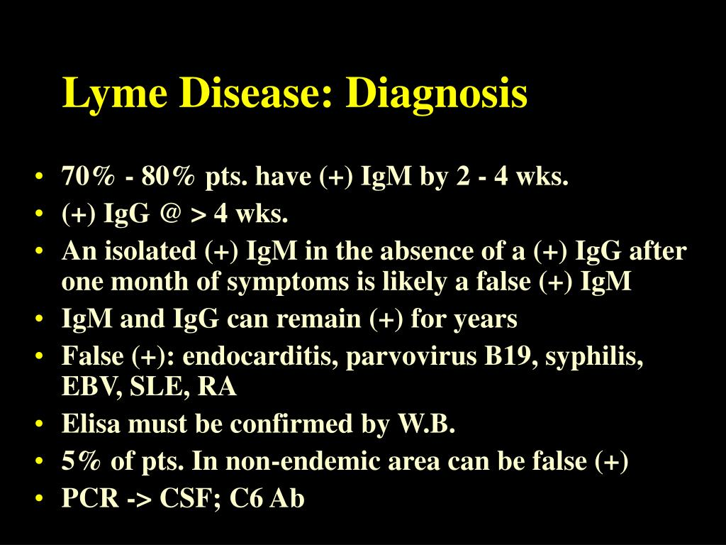 Lyme Disease: Diagnosis