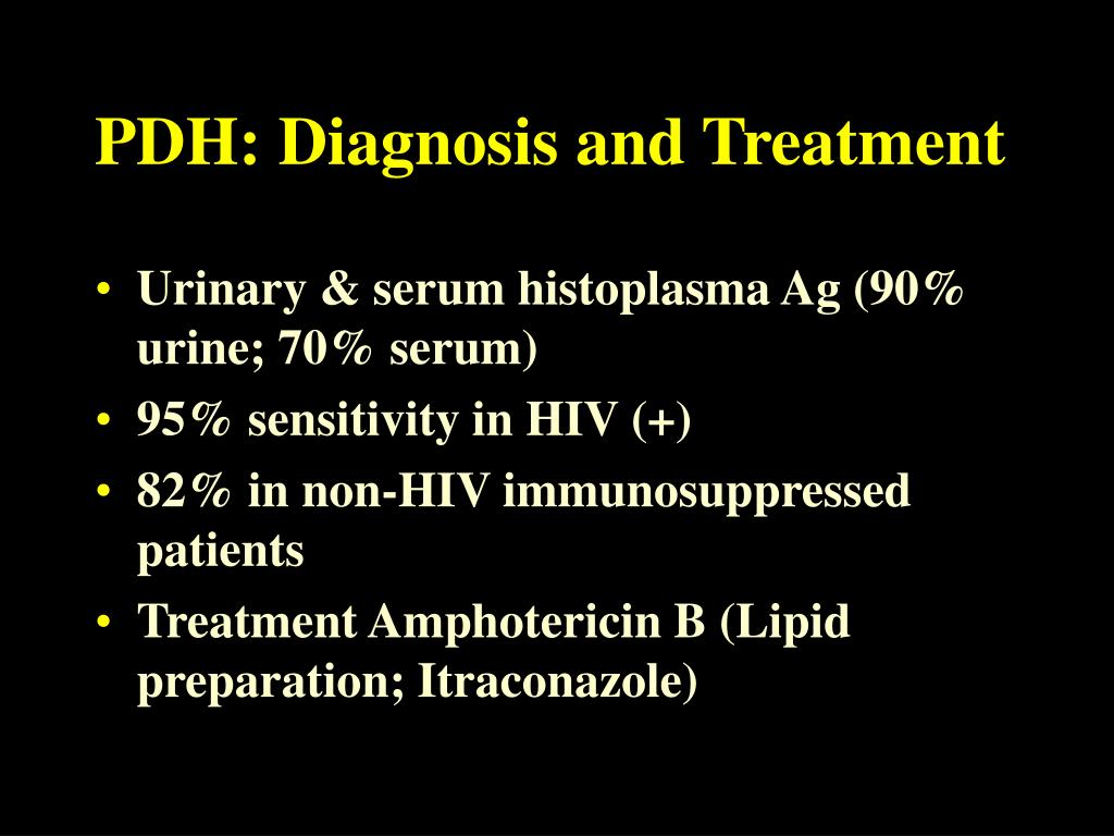 PDH: Diagnosis and Treatment