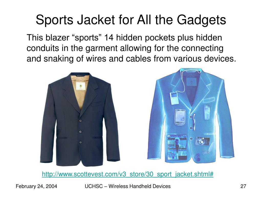 Sports Jacket for All the Gadgets
