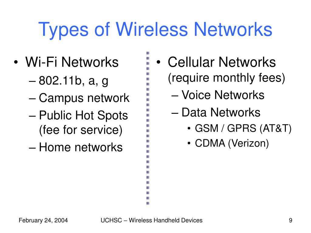 Cellular Networks