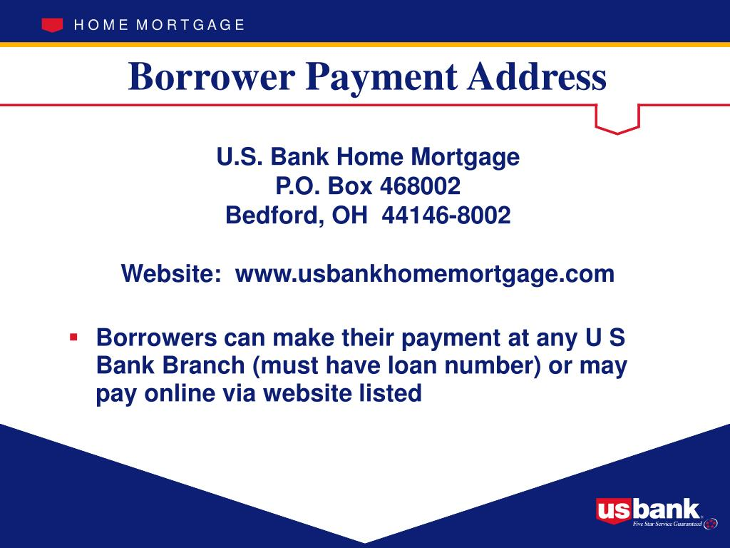 Borrower Payment Address