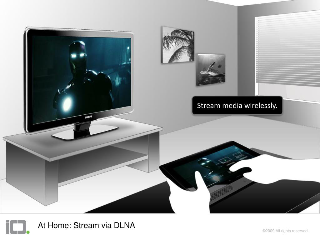 Stream media wirelessly.
