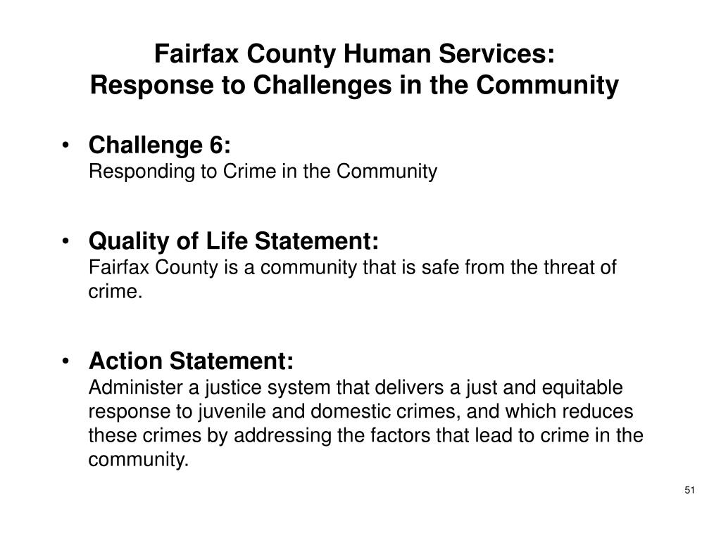 Fairfax County Human Services: