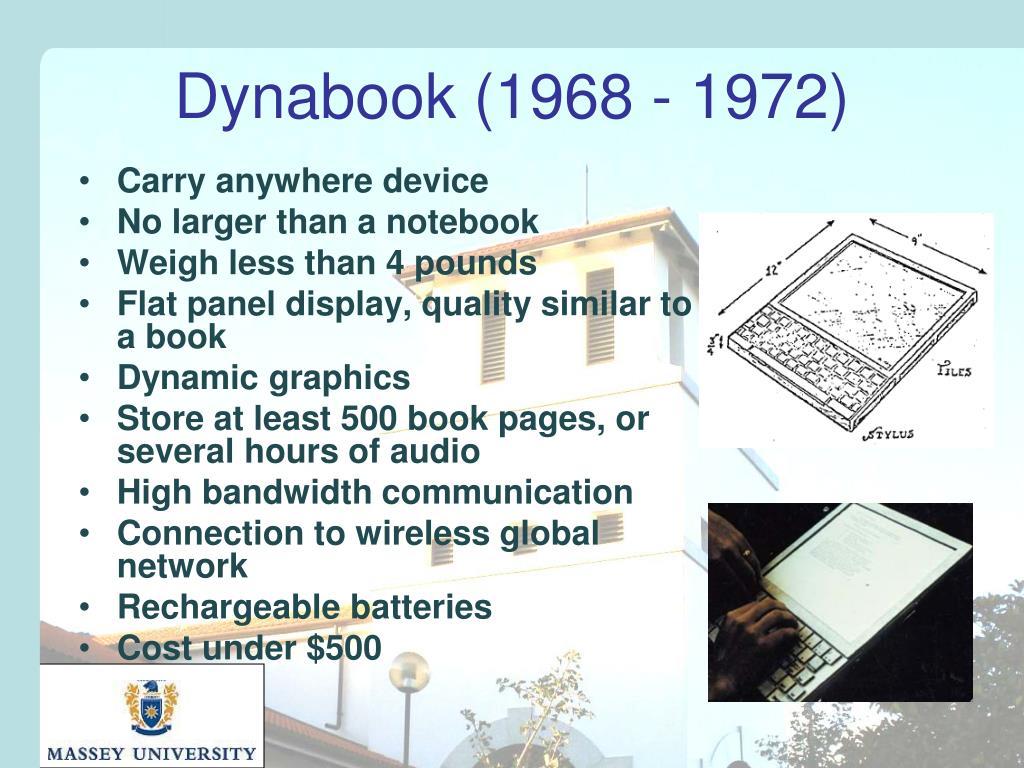 Dynabook (1968 - 1972)