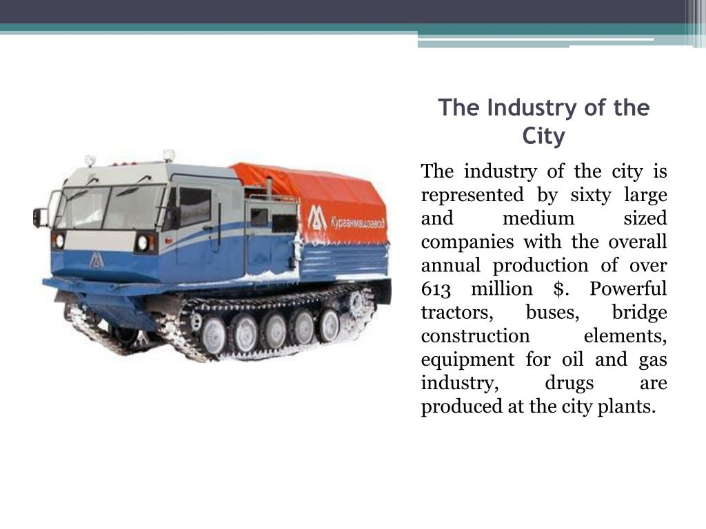 The Industry of the City