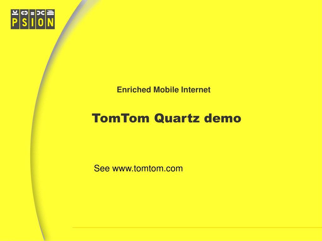 Enriched Mobile Internet