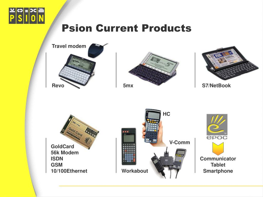 Psion Current Products