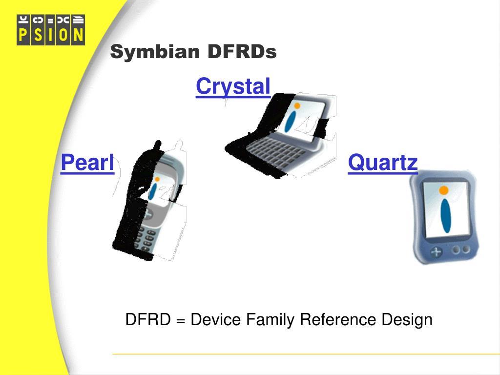Symbian DFRDs