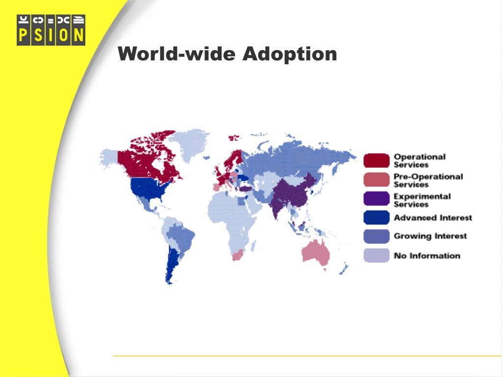 World-wide Adoption