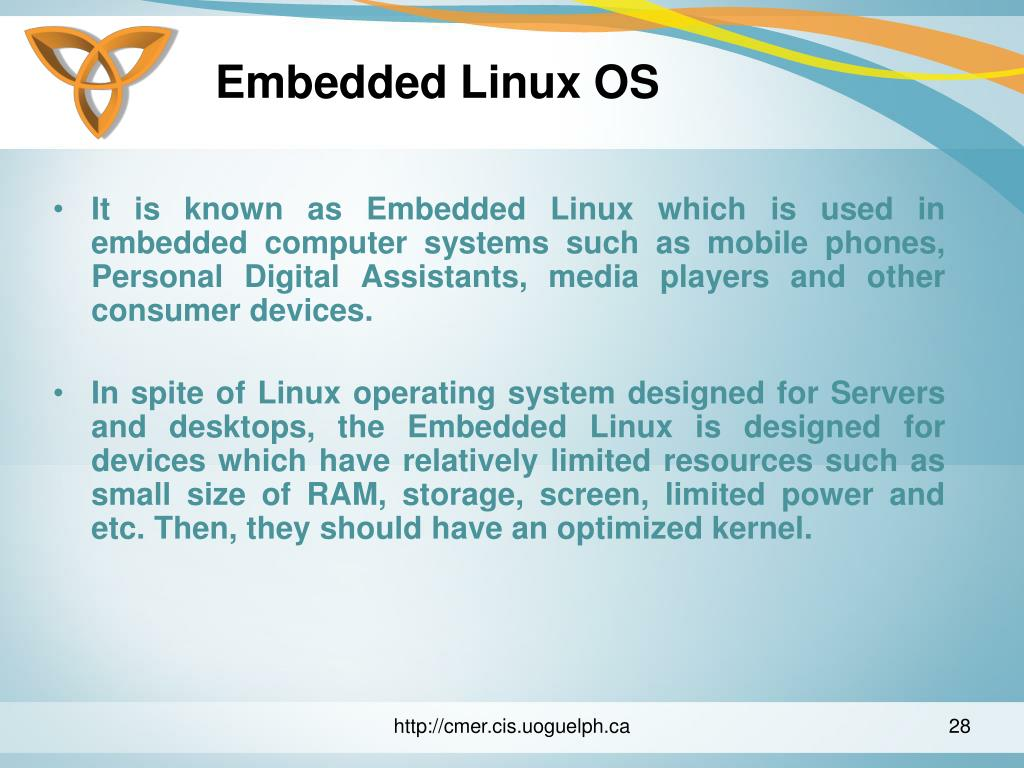 Embedded Linux OS