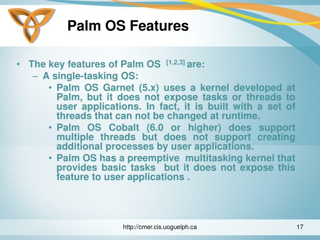 Palm OS Features