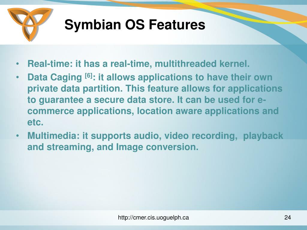 Symbian OS Features