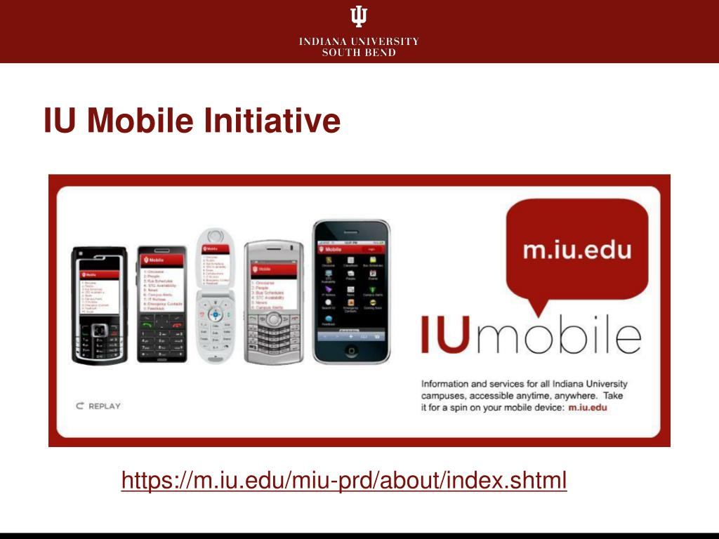 IU Mobile Initiative