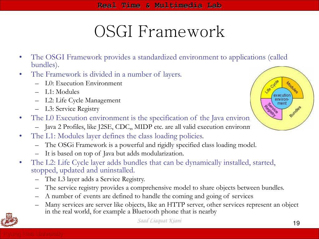OSGI Framework