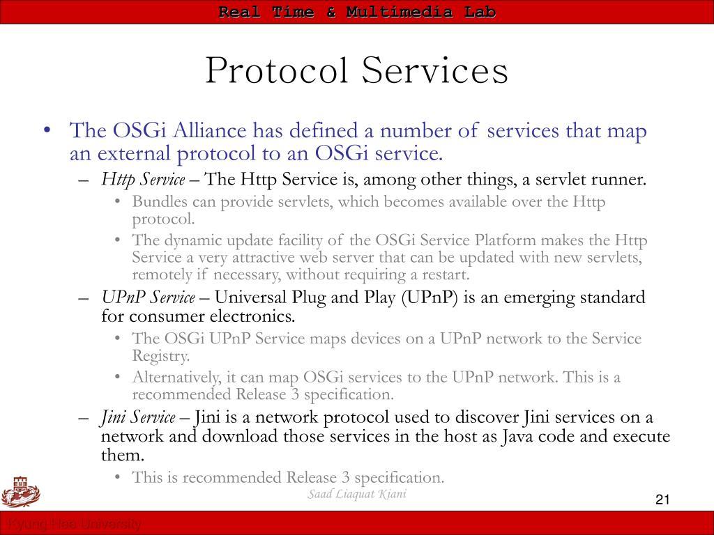 Protocol Services