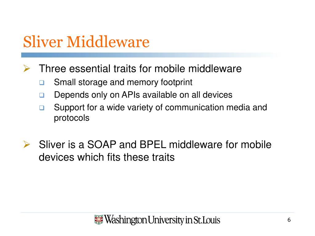 Sliver Middleware
