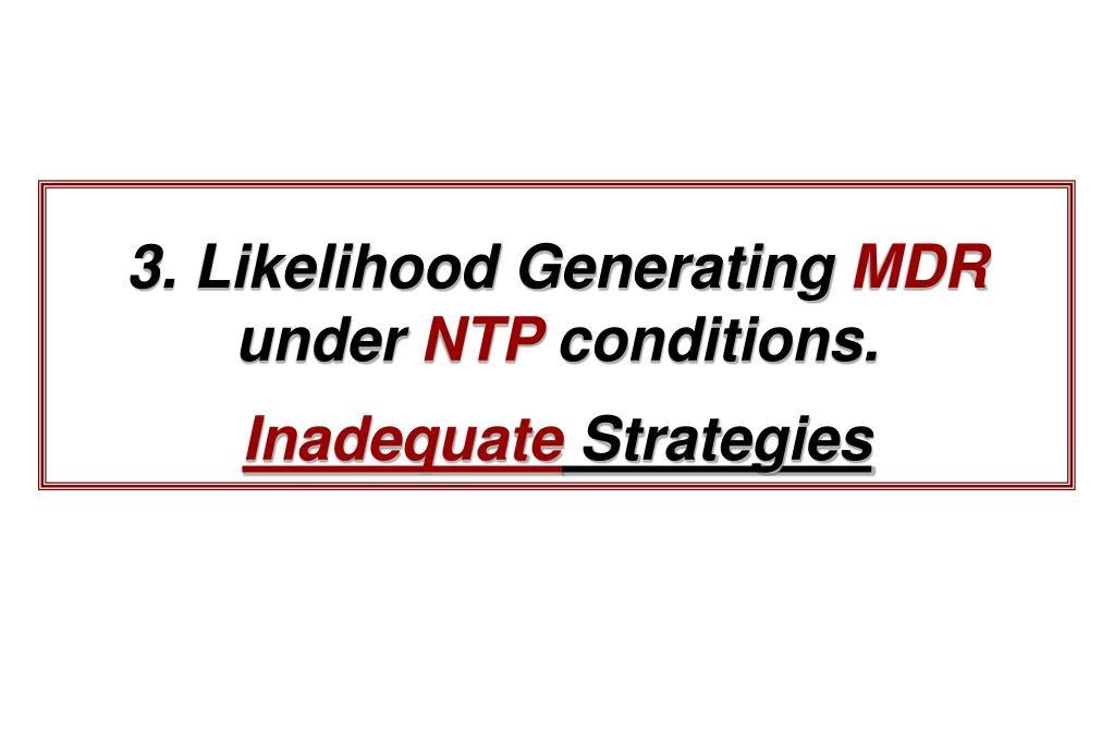3. Likelihood Generating