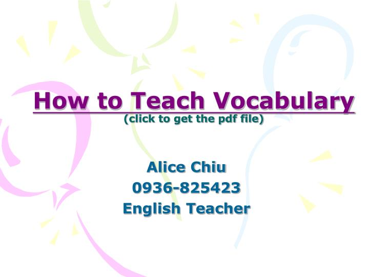 How to teach vocabulary click to get the pdf file l.jpg