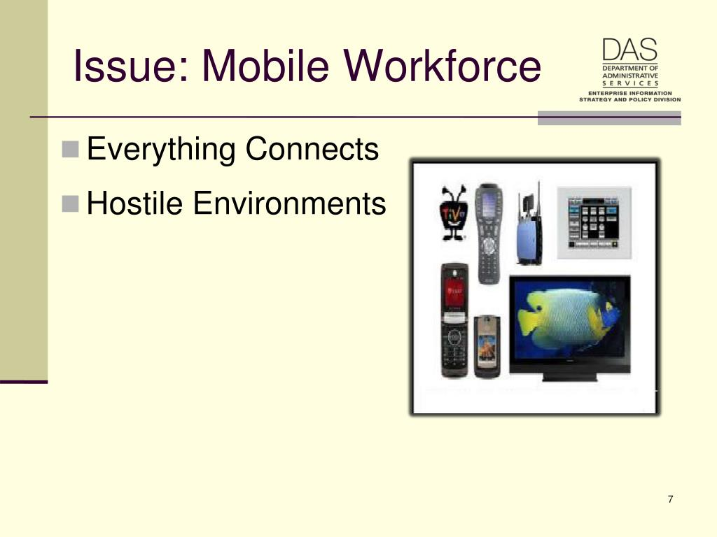 Issue: Mobile Workforce