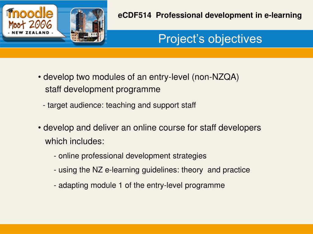 Project's objectives