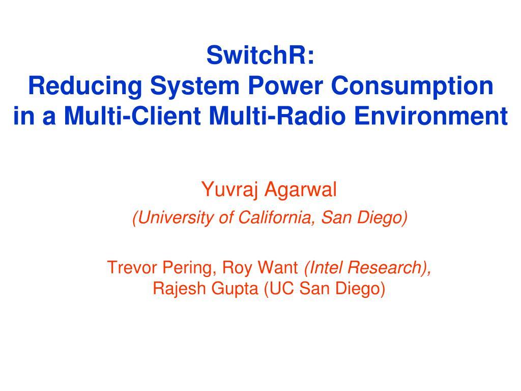 SwitchR: