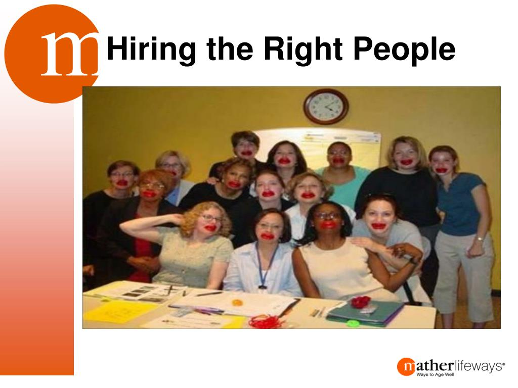 Hiring the Right People