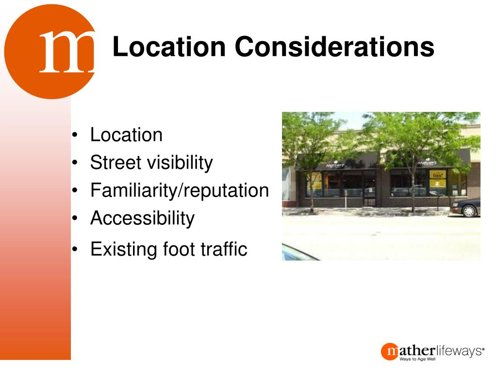 Location Considerations