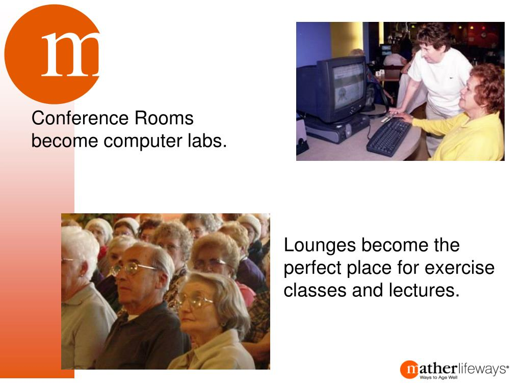 Conference Rooms become computer labs.