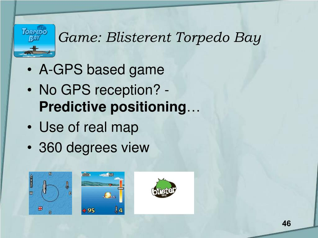 Game: Blisterent Torpedo Bay