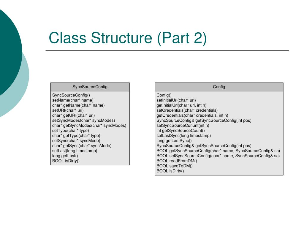 Class Structure (Part 2)