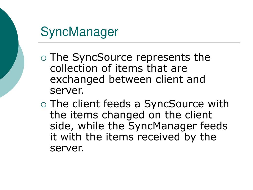 SyncManager