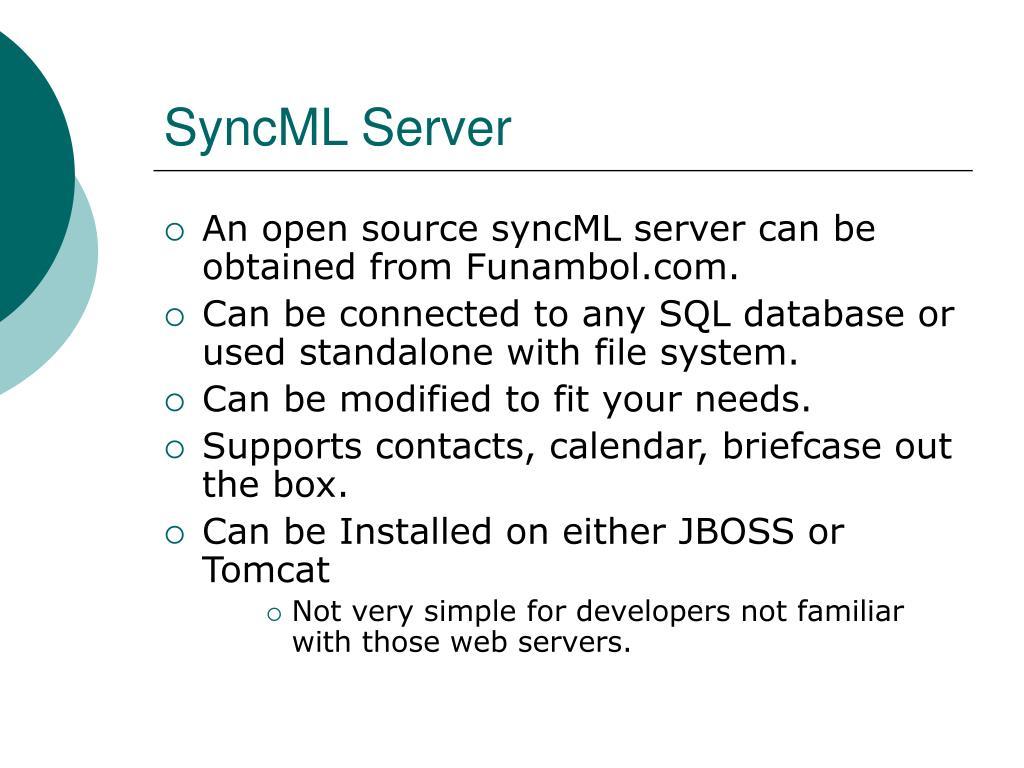 SyncML Server
