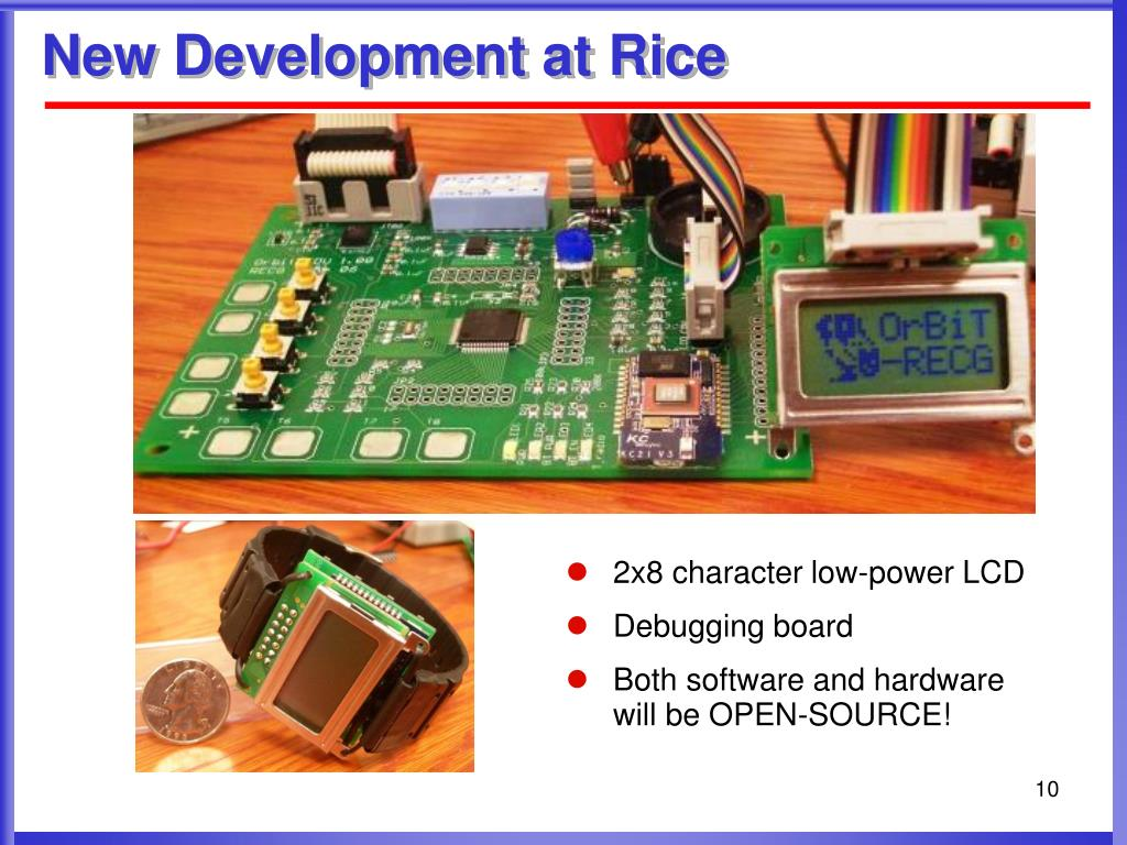 2x8 character low-power LCD