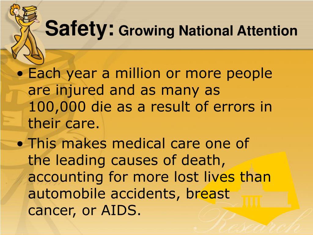 Safety: