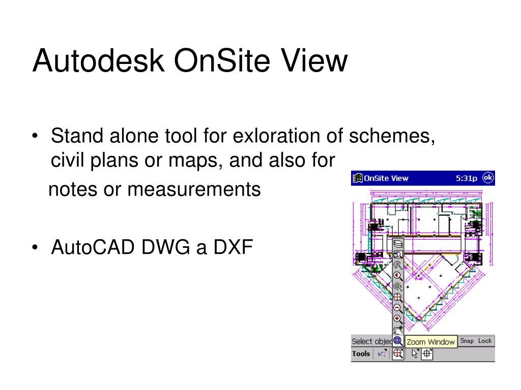 Autodesk OnSite View