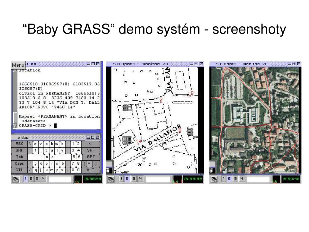 """Baby GRASS"" demo syst"
