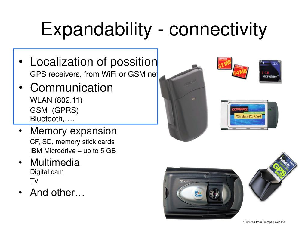 Expandability - connectivity