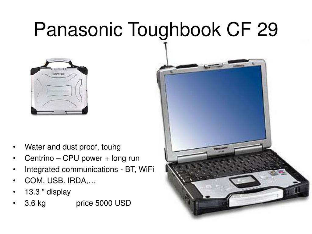 Panasonic Toughbook CF 29