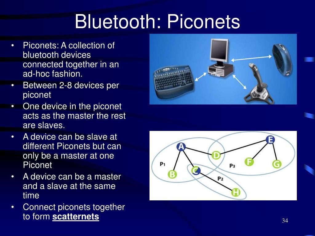 Bluetooth: Piconets