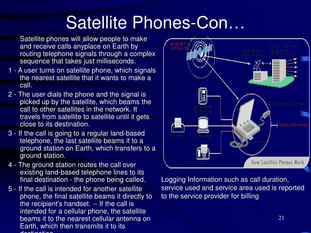 Satellite Phones-Con…