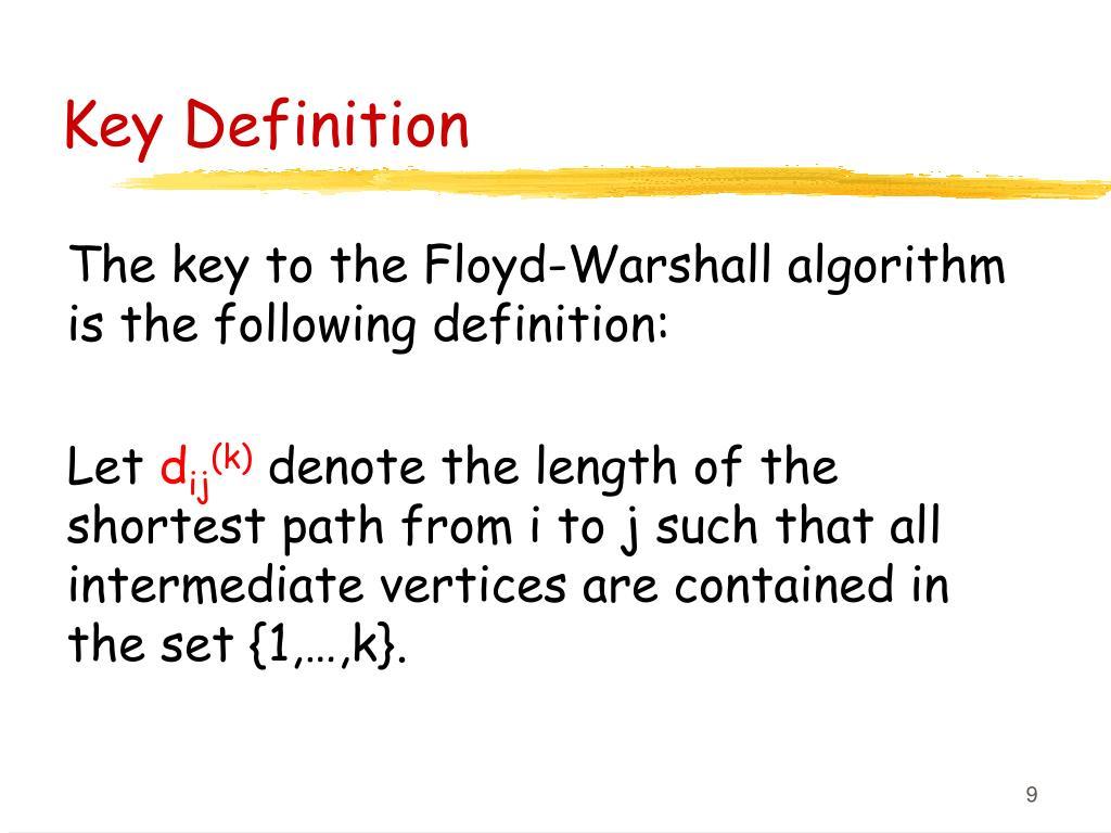 Key Definition