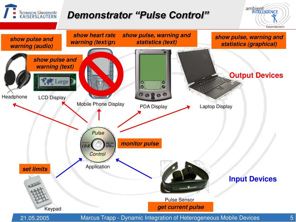"Demonstrator ""Pulse Control"""