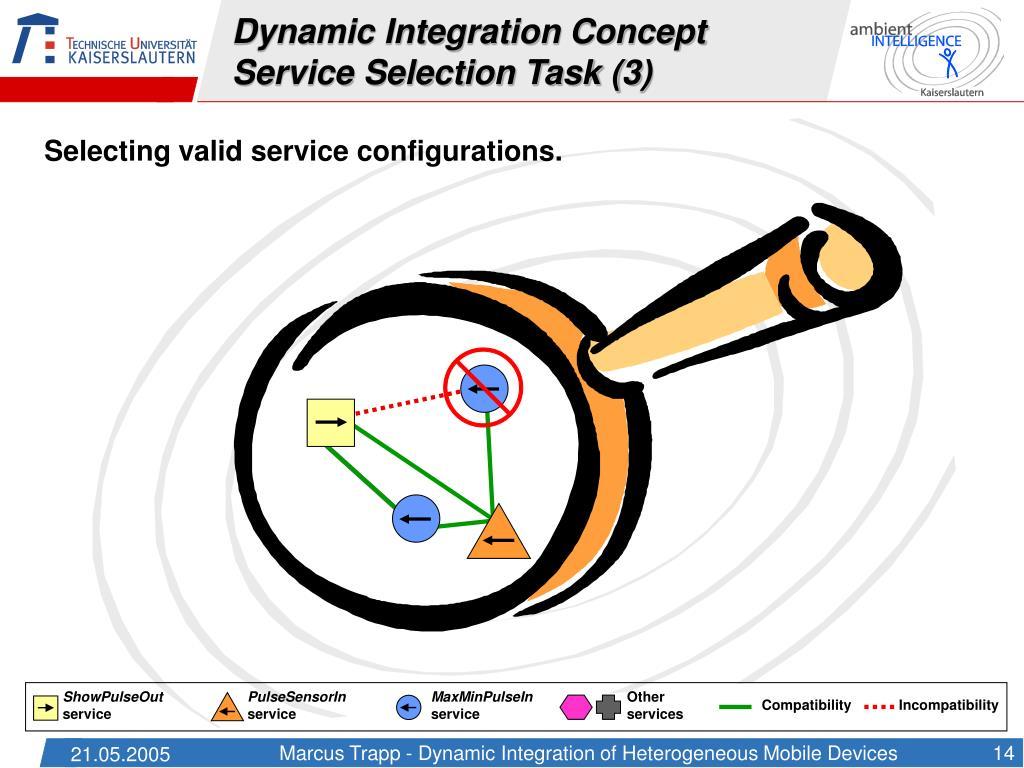 Dynamic Integration Concept