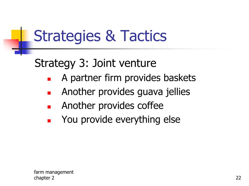 Strategies & Tactics